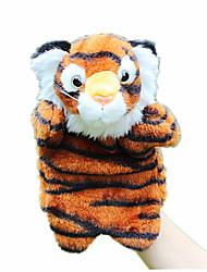 Недорогие -Пальцевые куклы Марионетки Rabbit Tiger Милый стиль Животные Милый Плюшевая ткань Плюш Детские Подарок