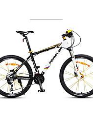 Bicicleta De Montanha Ciclismo 30 velocidade 26 polegadas/700CC Shimano Freio a Disco Hidráulico Suspensão GarfoQuadro de Liga de