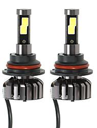 KKmoon Pair of 9004 HB1 DC 12V 40W 4000LM 6000K LED Headlight Lamp Kit Light Bulbs