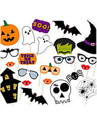 cheap -Special Occasion Halloween Material Hard Card Paper Wedding Decorations Holiday Spring, Fall, Winter, Summer