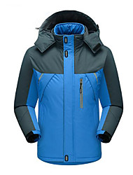 Men's Women's Hiking Jacket Outdoor Keep Warm Wateproof Windproof Waterproof for Ski / Snowboard Ice Skating