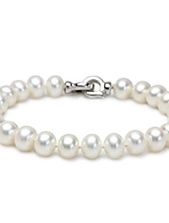 Femme Chaînes & Bracelets Bracelets de rive Bijoux Naturel Amitié Fait à la main Mode Perle Forme Ronde Forme Géométrique Bijoux Pour