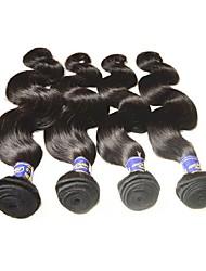 Недорогие -человеческие волосы Remy Пряди натуральных волос Реми Естественные кудри Перуанские волосы 400 g 1 год