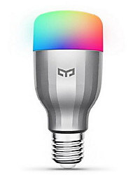 XiaoMi Yeelight E26/E27 Colorful RGBW LED Smart Bulb 19 LEDS 600lm 1700-6500K 220-240V WIFI Remote Control