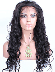 Indian Lace Front Human Hair Wigs For Black Women Remy Human Hair Water Wave Wig With Baby Hair Natural Hairline