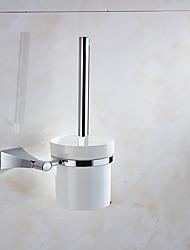 cheap -Toilet Brush Holder High Quality Modern Metal 1 pc - Hotel bath Wall Mounted