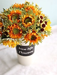 Sunflower Spend Beam Simulation Flowers Silk Flowers Wedding Export Home Decoration