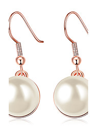 cheap -Women's Silver Plated Rose Gold Plated Drop Earrings - Personalized Luxury Unique Design Classic Elegant Euramerican Fashion Adorable