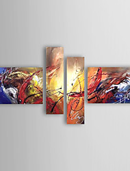 cheap -Hand Painted Modern Abstract Oil Painting On Canvas Wall Art Picture For Home Decoration Ready To Hang 4 Combination