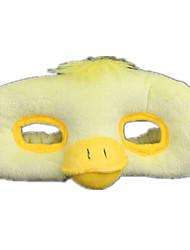 Недорогие -Маски на Хэллоуин Животная маска Мягкие и плюшевые игрушки Игрушки Утка Плюшевая ткань Ужасы Куски Жен. Девочки Подарок