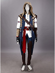 Ispirato da Assassino Conner Video gioco Costumi Cosplay Abiti Cosplay / Cosplay Tops / Bottoms / Copricapo / Guanti / Altri accessori
