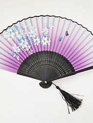 Little Flower Butterfly Fan With Random Pattern 1 PCS Per Order