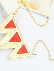 Women's Geometric Personalized Luxury Geometric Unique Design Logo Style Dangling Style Acrylic Diamond Pendant Classic Bohemian Basic