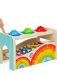 cheap -Xylophone Hammering / Pounding Toy Baby & Toddler Toy Toys Education Fun Wooden Children's Unisex Pieces