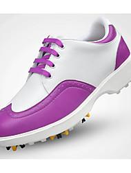 abordables -Chaussures de Golf Femme Golf Doux Confortable Des sports Sport extérieur Utilisation Exercice Sport de détente Style artistique Style