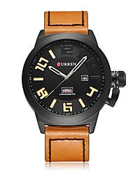 Hombre Reloj Deportivo Reloj de Vestir Reloj Esqueleto Reloj elegante Reloj de Moda Reloj de Pulsera Chino Cuarzo Resistente a los Golpes