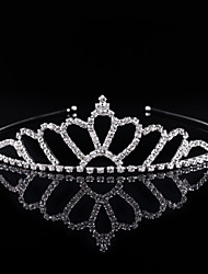 cheap -Crystal Rhinestone Alloy Tiaras Headbands 1 Wedding Special Occasion Party / Evening Headpiece