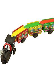 Недорогие -Игрушечные машинки Игрушка с заводом Поезд Игрушки Ретро Шлейф Сварочное железо Железо Винтаж Ретро Куски Универсальные Подарок