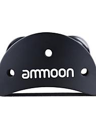 Ammoon elliptische cajon box trommel companion zubehör fuß jingle tambourine für hand percussion instrumente schwarz