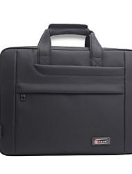 Men Bags All Seasons Oxford Cloth Laptop Bag Zipper for Casual Office & Career Black/White