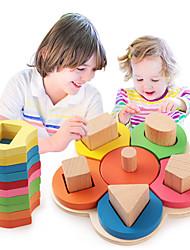 baratos -Ferramentas de Ensino Montessori / Blocos de Construir / Brinquedo Educativo 1pcs Flor Educação Para Meninas Dom