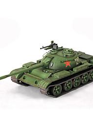Недорогие -3D пазлы Бумажная модель Игрушки Квадратный Танк Плотная бумага Не указано Куски