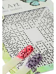 economico -1 Adesivi per manicure Per ragazza Effetto 3D Articoli DIY Adesivo Cosmetici e trucchi Fantasie design per manicure