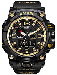 cheap -SMAEL Men's Digital Digital Watch Military Watch Sport Watch Japanese Calendar / date / day Chronograph Water Resistant / Water Proof