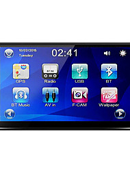Rungrace 7 '' deckless car sistema multimídia com bluetooth radio funtion rl-270dnn04