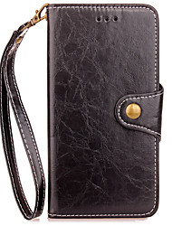 cheap -Case For Xiaomi Redmi 4X Note 4 Case Cover Card Holder Wallet with Stand Flip Full Body Case Solid Color Hard PU Leather for Redmi 4/4Pro Note 4X