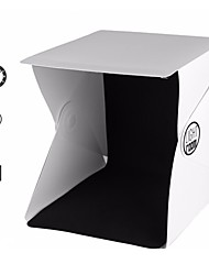 Portable Mini Folding Studio Portable Photography Mini Studio Foldable Softbox with Black/white Backgound Soft Lightbox