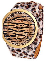 Women's Fashion Watch Unique Creative Watch Simulated Diamond Watch Chinese Quartz Imitation Diamond Leather Band Sparkle Mustaches