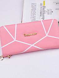 cheap -Women Bags PU Money Clip for Shopping Daily Casual All Seasons Gray Purple Fuchsia Sky Blue Pink