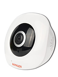 2MP HD 360 Degree IP Camera Panoramic Fisheye CCTV WIFI Wireless Security 1080P SD Card Intercom