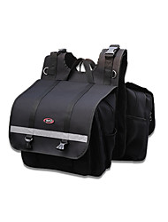 billiga -motorcykel saddlebag set 2 st påse väska väska för honda / yamaha / suzuki (svart& grå färg)
