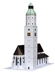 economico -Puzzle 3D Giocattoli Torre Edificio famoso Architettura 3D Fai da te Simulazione Non specificato Unisex Pezzi
