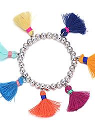 Femme Charmes pour Bracelets Bijoux Naturel Arc-en-ciel Turc Bijoux de Luxe Fait à la main Forme de Cercle Bijoux PourMariage Soirée