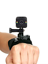 Недорогие -Повязка на запястье Ударопрочный Non-Slip Устойчивый к царапинам Износостойкий Регулируется Для Экшн камера Polaroid Куб Велосипеды для