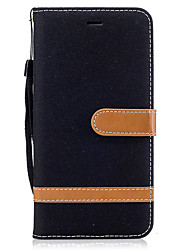cheap -Case For Motorola Card Holder Wallet with Stand Flip Full Body Cases Solid Color Hard PU Leather for Moto G5 Plus Moto G5 Moto G4 Plus