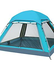 baratos -3-4 Pessoas Barraca com Tela de Proteção Tenda Duplo Barraca de acampamento Um Quarto Tenda Dobrada Prova-de-Água A Prova de Vento