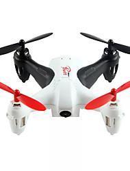 Недорогие -RC Дрон WL Toys Q242-G 4 канала 2.4G С HD-камерой 720P Квадкоптер на пульте управления Светодиодные фонарики Полет C Bозможностью