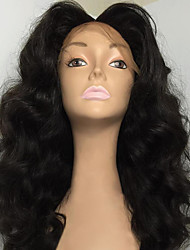 New Style Wave Human Hair Wig High Quality 100% Brazilian Human Hair Full Lace Wigs With Baby Hair For Beautiful Woman