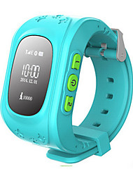 cheap -Kid's Fashion Watch Wrist watch Smart Watch Digital Rubber Band Blue Green Rose