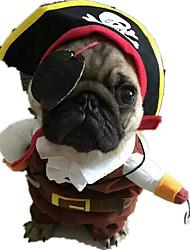 Hund Kostüme Hundekleidung Lässig/Alltäglich Totenkopf Motiv Kaffee