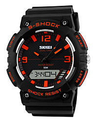 cheap -SKMEI® 1057 Men's Woman Watch Outdoor Sports Multi - Function Watch Waterproof Sports Electronic Watches 50 Meters Waterproof