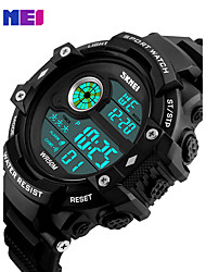 cheap -Men's Quartz Digital Digital Watch Wrist Watch Smartwatch Military Watch Sport Watch Chinese Calendar / date / day Chronograph LED Large