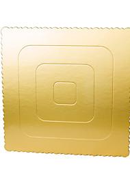 Недорогие -Формы для пирожных Квадратный Повседневное использование Розовое золото Инструмент выпечки