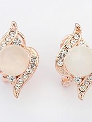 Women's Drop Earrings Synthetic Opal Rhinestone Basic Circular Unique Design Geometric Friendship Personalized Hip-Hop Rock Multi-ways