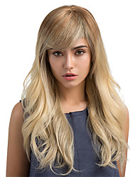 cheap -Novel Fashion Ombre Long Hair Human Hair Wigs