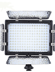 Andoer W160 Video Photography Light Lamp Panel 6000K 160 LEDs for Canon Nikon Pentax Sony (Alpha) Olympus Fujifilm DSLR Camera DV Camcorder